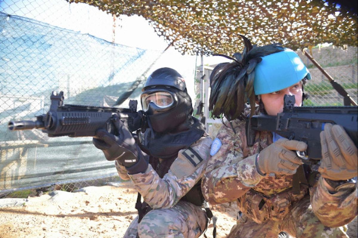 Libano, militari italiani portano a termine più di 30 corsi addestramento in favore forze sicurezza libanesi