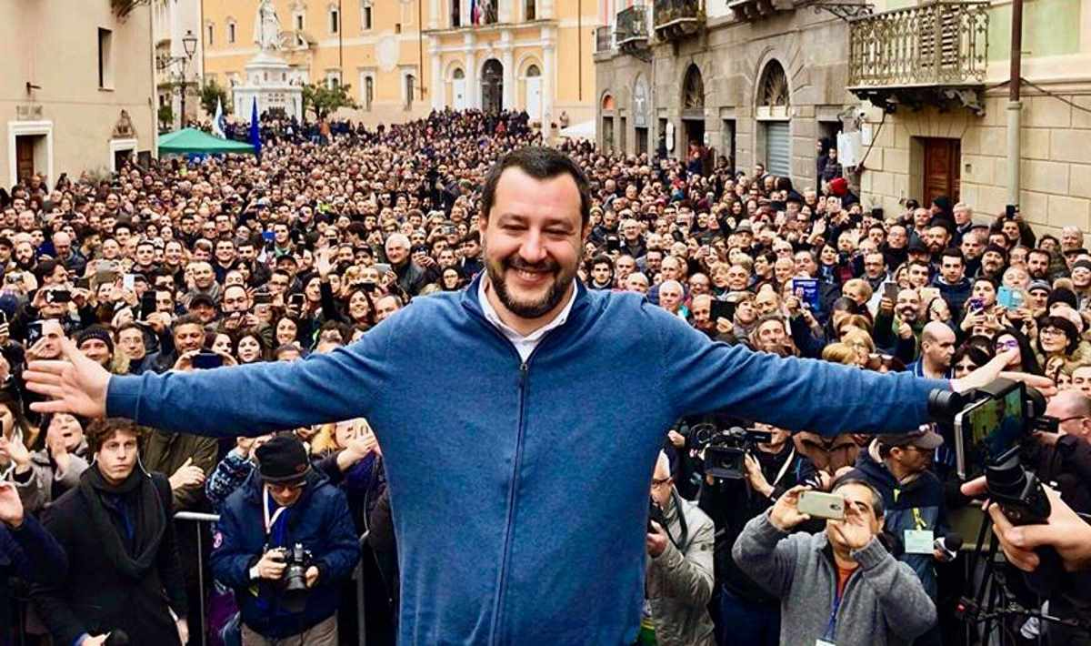 Il petroliere Salvini vince le regionali in Basilicata
