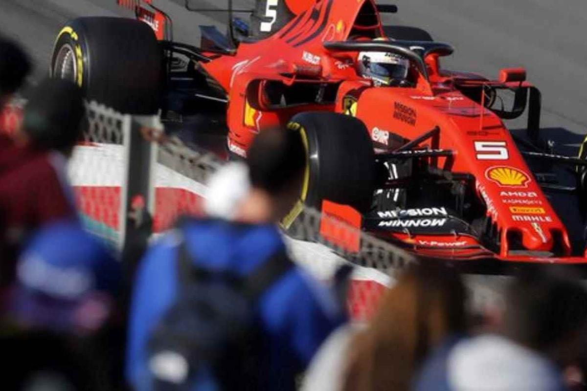 Formula 1. Conclusi i test invernali a Barcellona: Vettel il più veloce