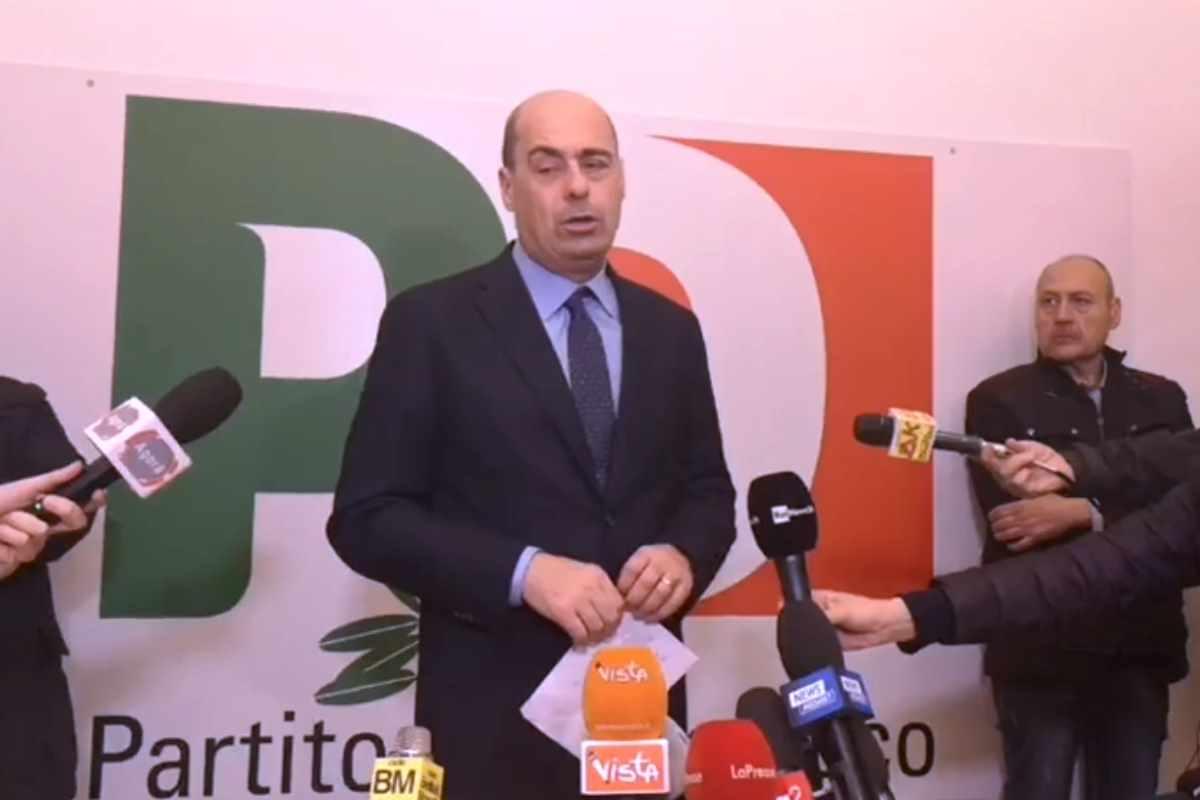 Zingaretti promosso alla prima Direzione del Pd, ma con l'astensione dei renziani