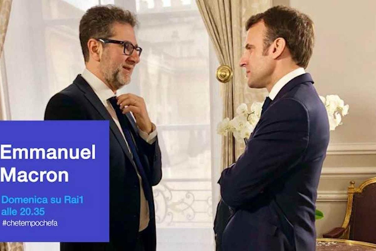 Fazio da Macron: persino un'intervista diventa un caso politico...