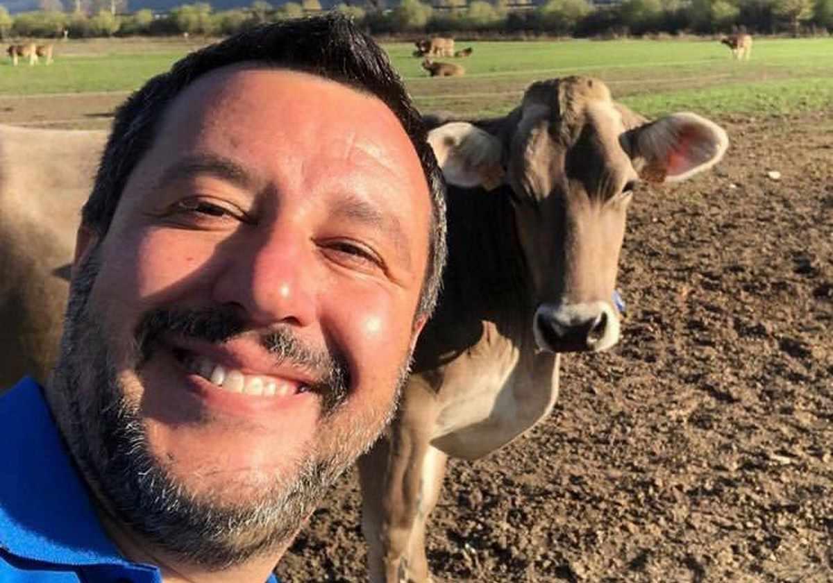 Salvini è solo un opportunista e non un fascista, però...