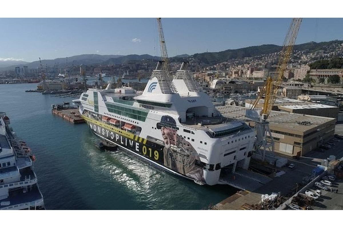 Pronta la nave del Komandante, salperà il prossimo 19 maggio per la Sardegna