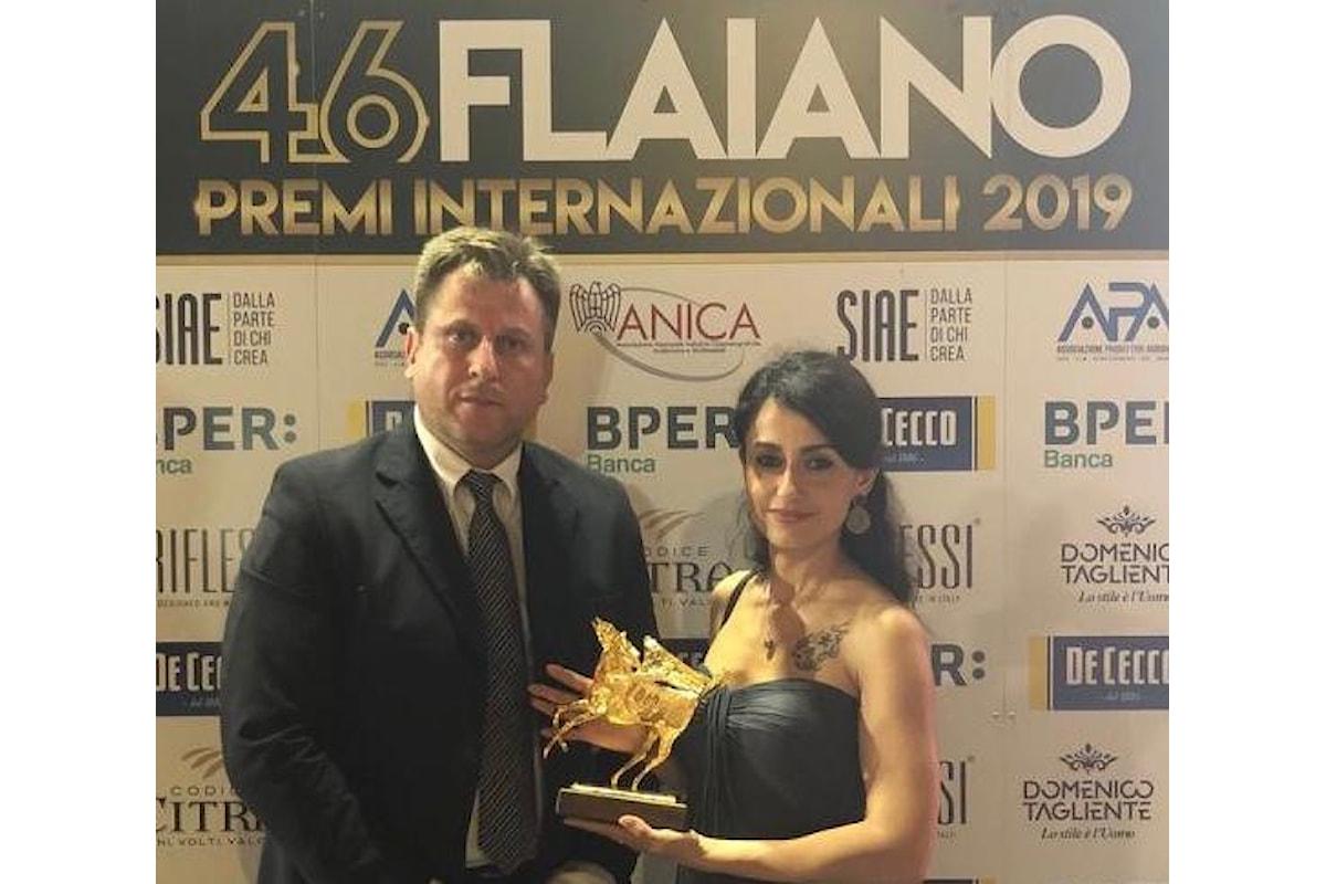 Pegaso D'Oro per il cinema ai registi del momento Francesco Gagliardi e Stefania Capobianco