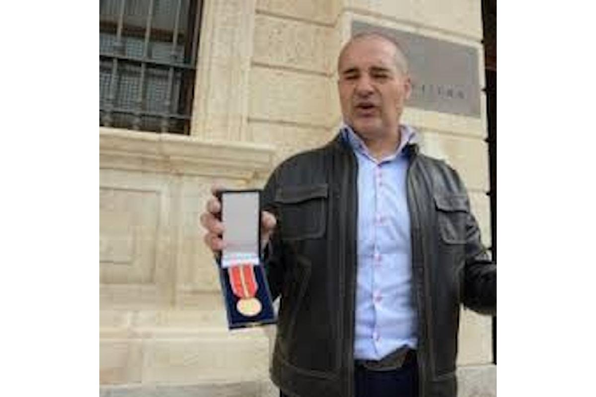 Sassari, Carabiniere eroe di Naasirya restituisce la medaglia al valore per protesta