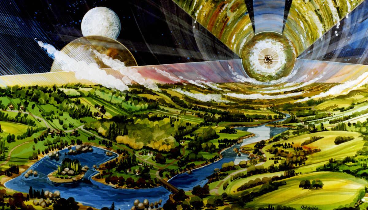 Colonie di O'Neill, ecco come Jeff Bezos intende colonizzare lo spazio tra la Terra e la Luna