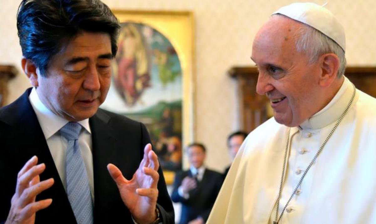 Viaggio apostolico del Papa in Thailandia e Giappone dal 19 al 26 novembre prossimo