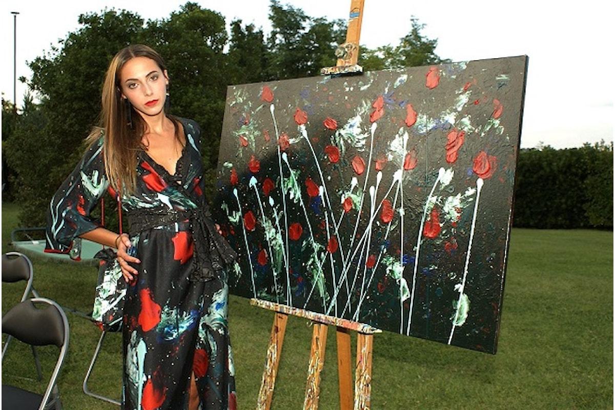 Fabiana Gabellini Made to Measure: opere d'arte divengono icone di design da indossare ogni giorno