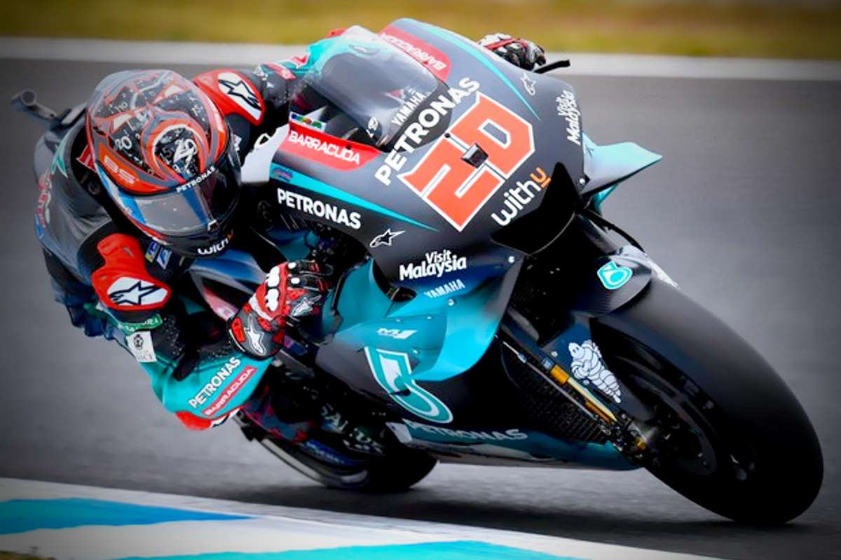 MotoGP, a Motegi nelle libere del venerdì il più veloce è stato Quartararo