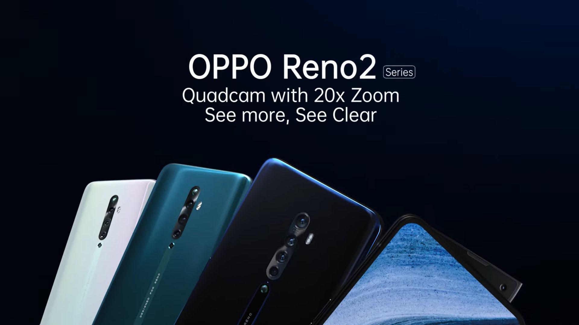 Oppo Reno 2 e Reno 2Z arrivano ufficialmente in Italia: bellissimi e con fotocamere (quasi) al top...