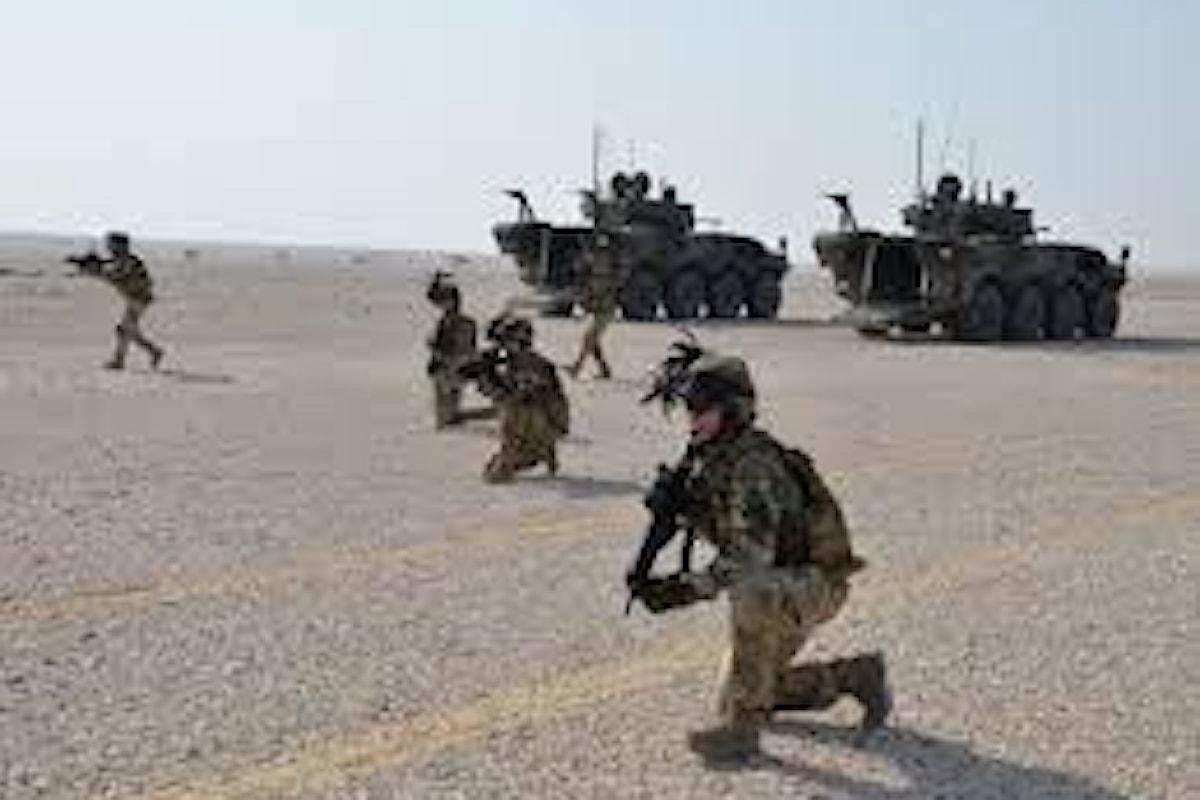 Qatar, Bersaglieri in azione in esercitazione NASR 19