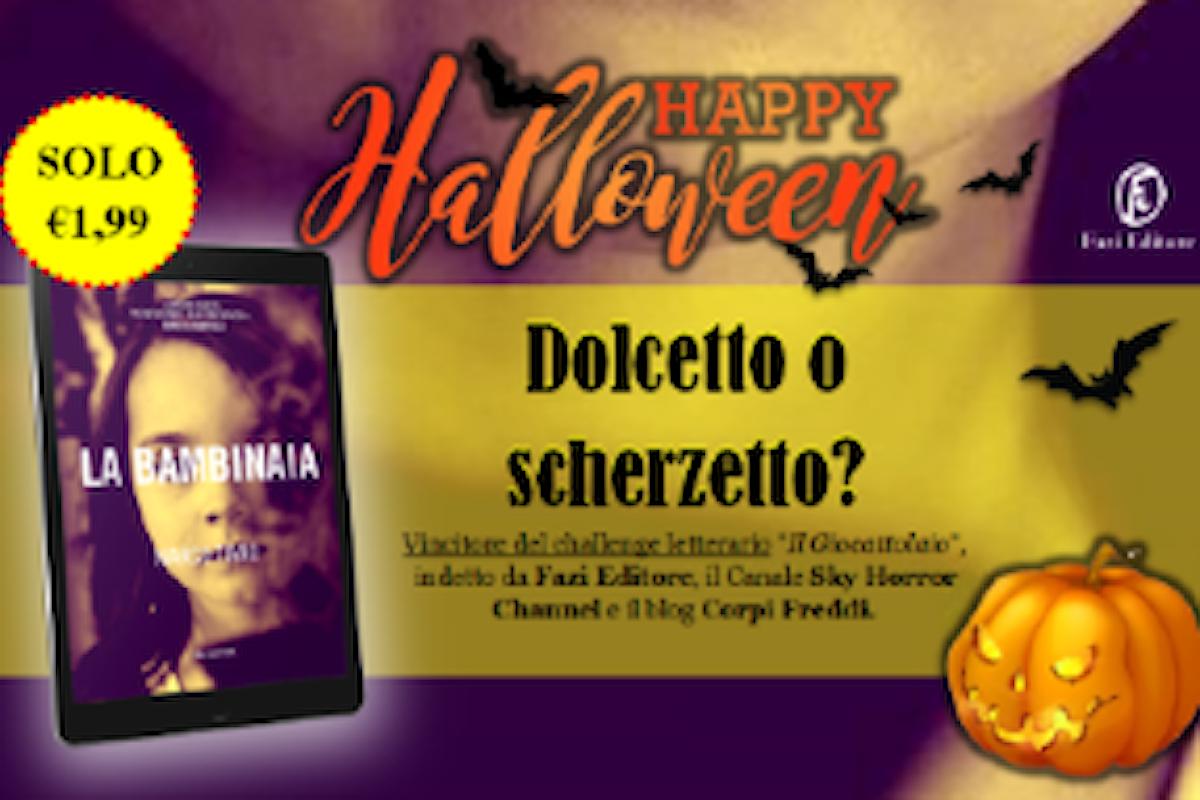 Halloween: LA BAMBINAIA, una ghost story di Marco Tiano per Fazi Editore