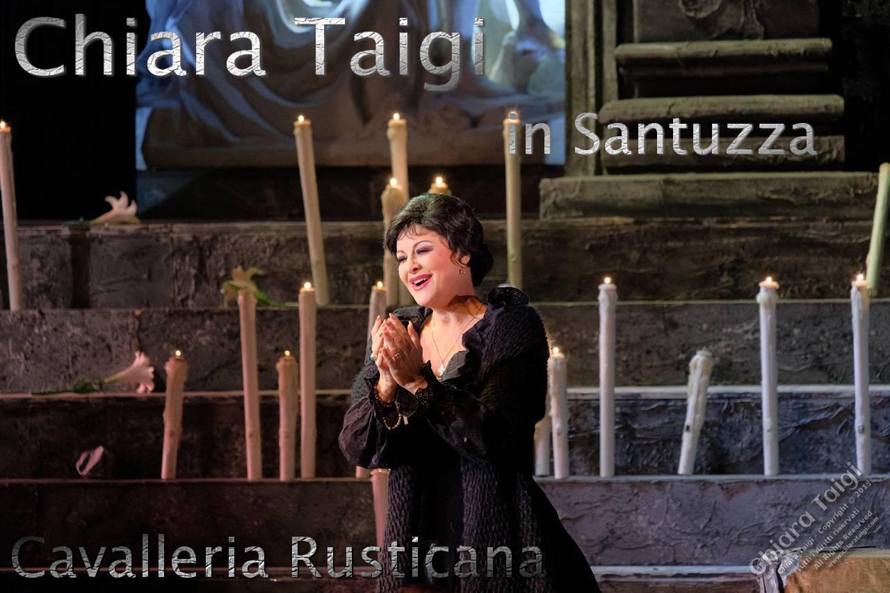 La Cavalleria Rusticana nel segno di Chiara Taigi, una Santuzza di rara bellezza in Russia