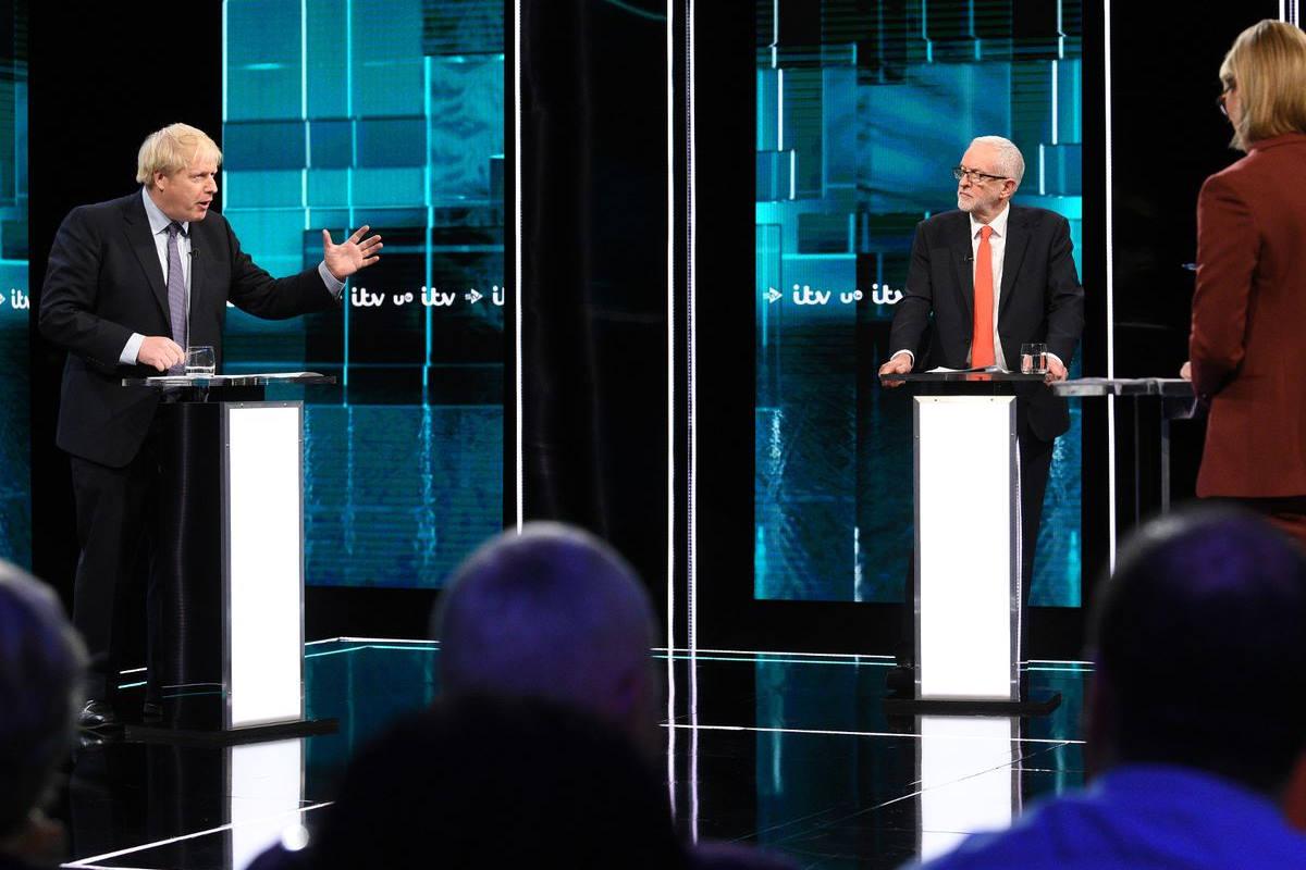 Boris Johnson e Jeremy Corbyn si sono scontrati sulla Brexit nel primo dibattito elettorale TV della campagna