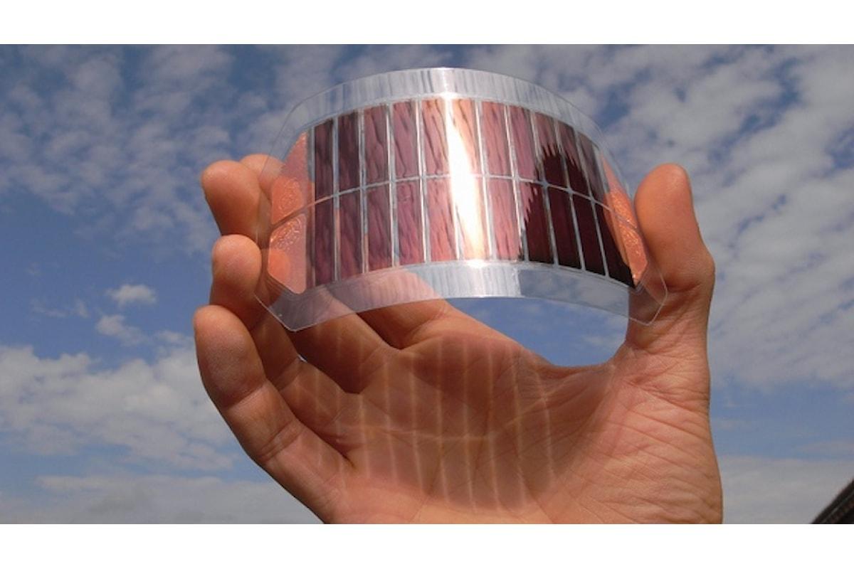 Eni fotovoltaico organico, adattabilità e alto grado di sperimentabilità