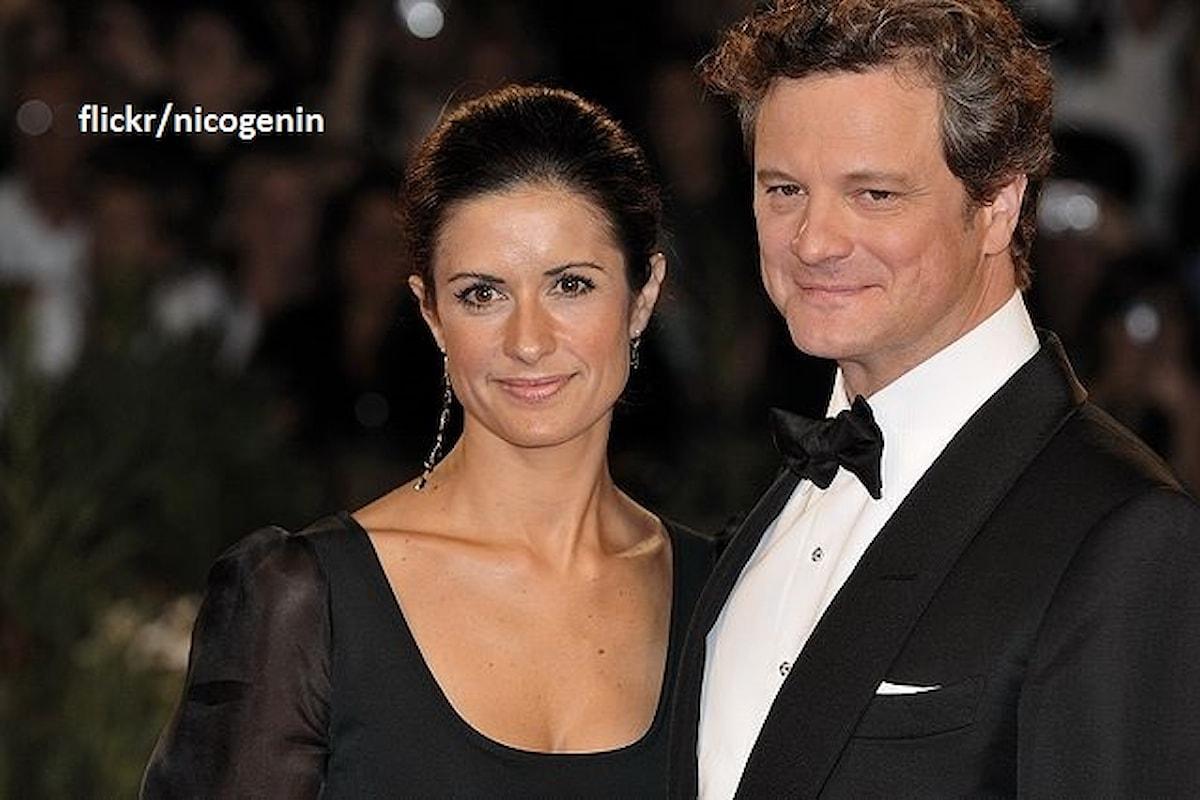 Colin Firth e la moglie Livia Giuggioli si separano dopo 22 anni di matrimonio