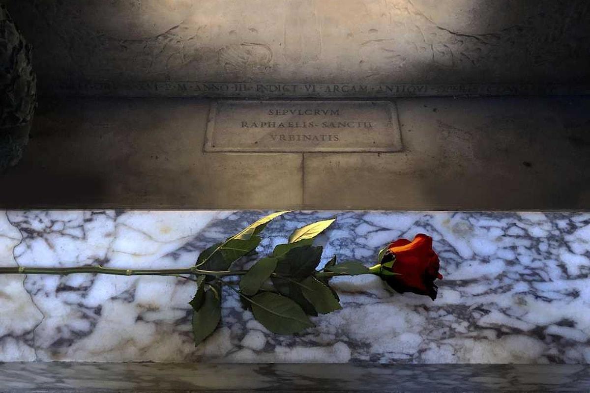 Una rosa per Raffaello