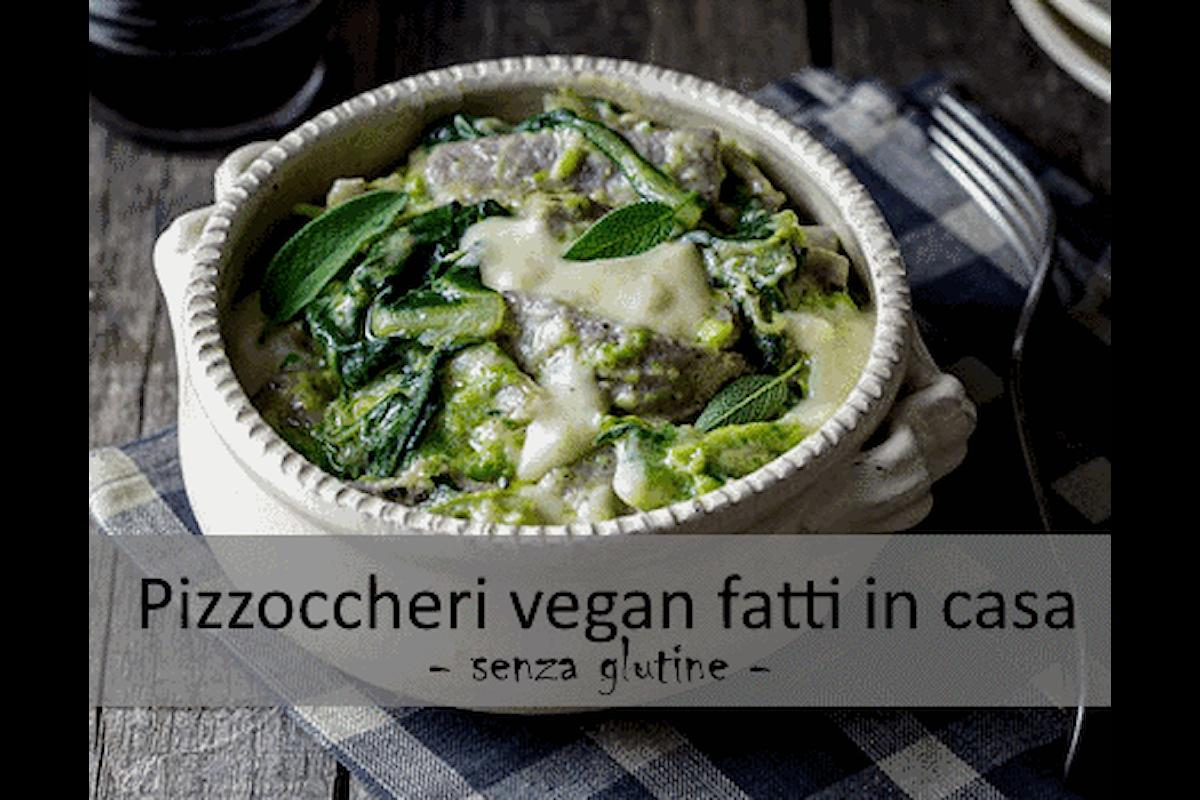 Ricetta senza #Glutine - Pizzoccheri vegan fatti in casa
