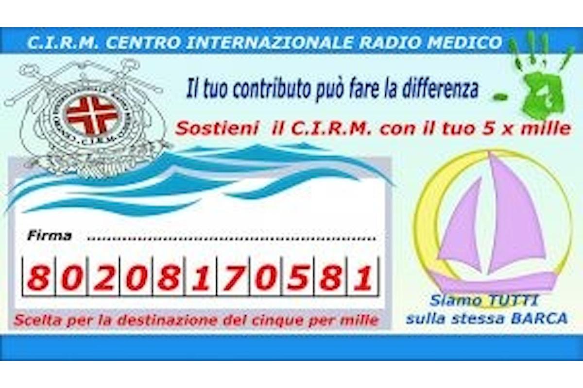 Da 85 anni il CIRM offre assistenza sanitaria alle navi in navigazione