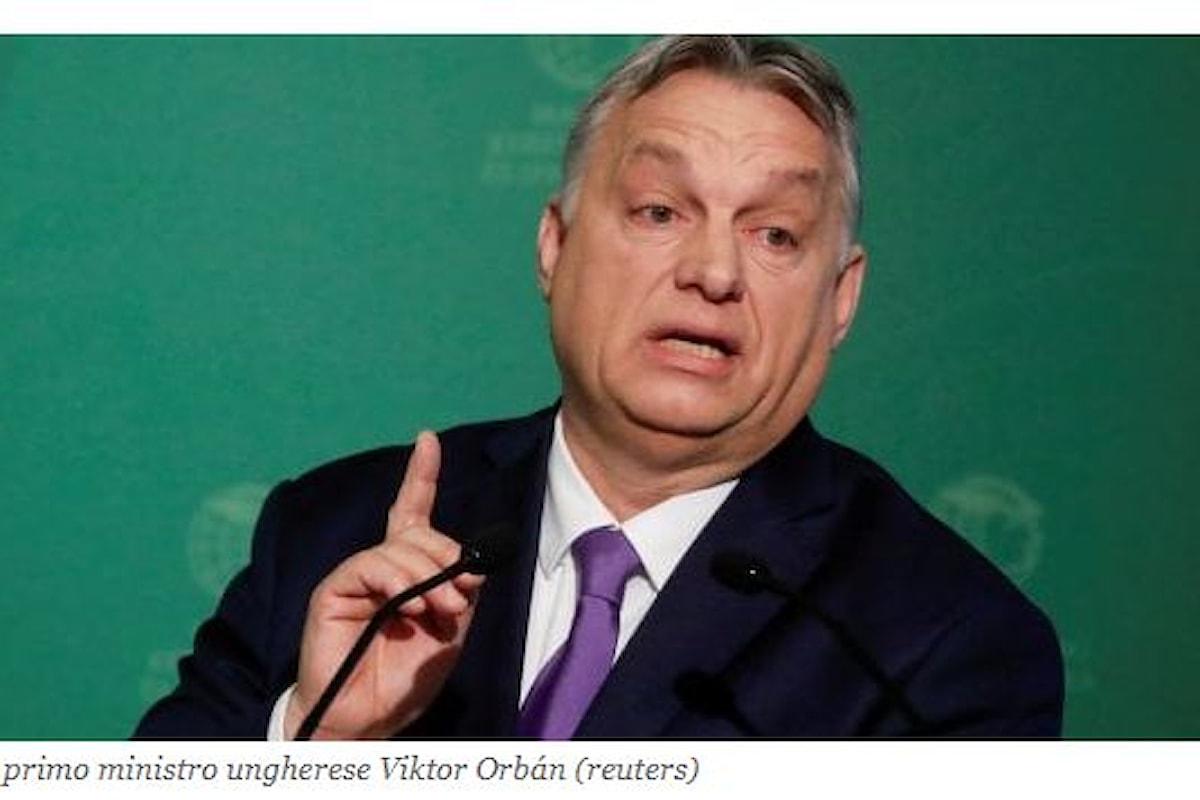 Ungheria, il primo atto del Premier Orbán come padrone assoluto: legge anti-LGBT