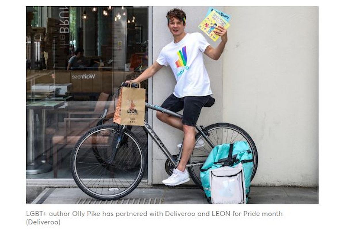Giugno Mese dell'orgoglio LGBT: Deliveroo e la catena di Fast Food Leon insieme contro l'omofobia