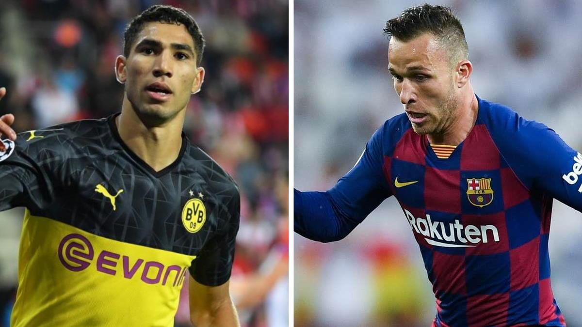 Ultime, o quasi, dal calciomercato: Arthur alla Juve e Hakimi all'Inter