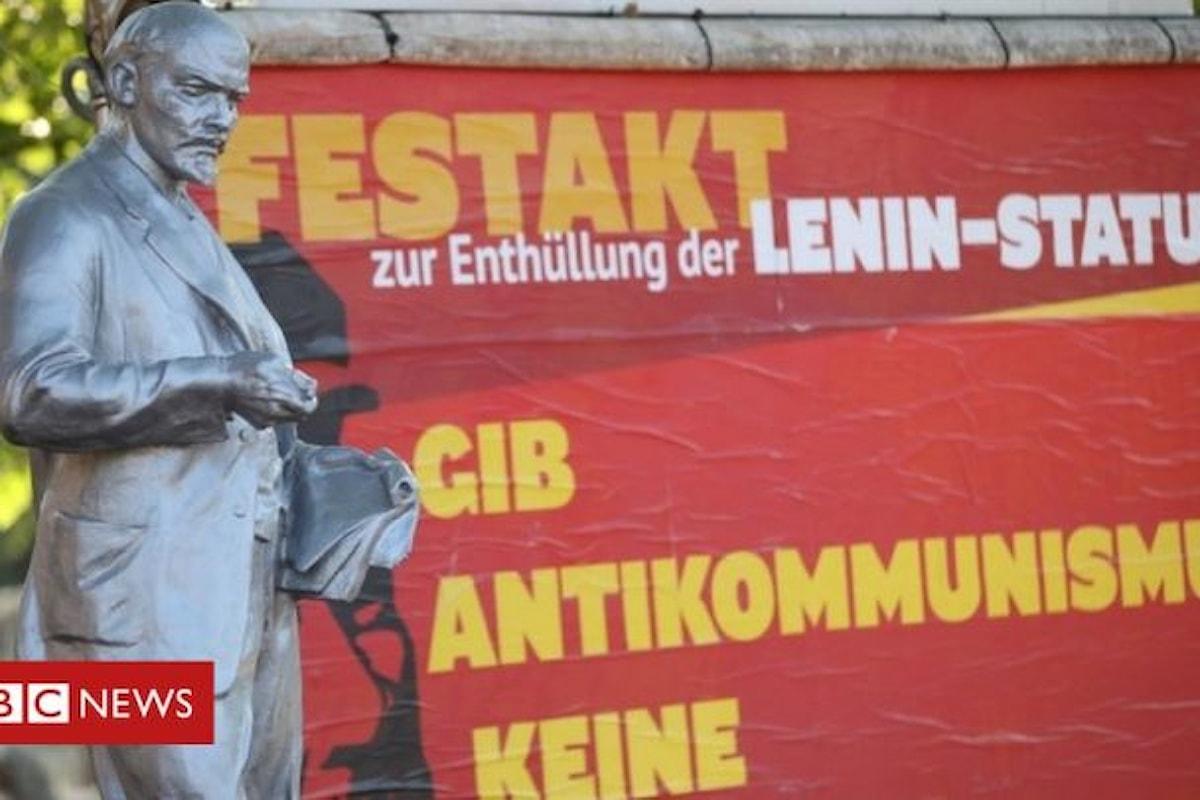 In Germania inaugurata statua dedicata a Lenin