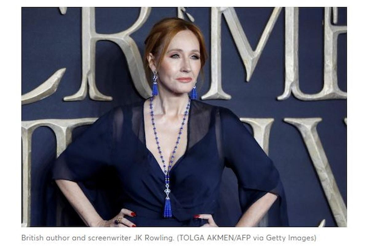 J.K. Rowling, vendite in calo dopo le accuse di transfobia