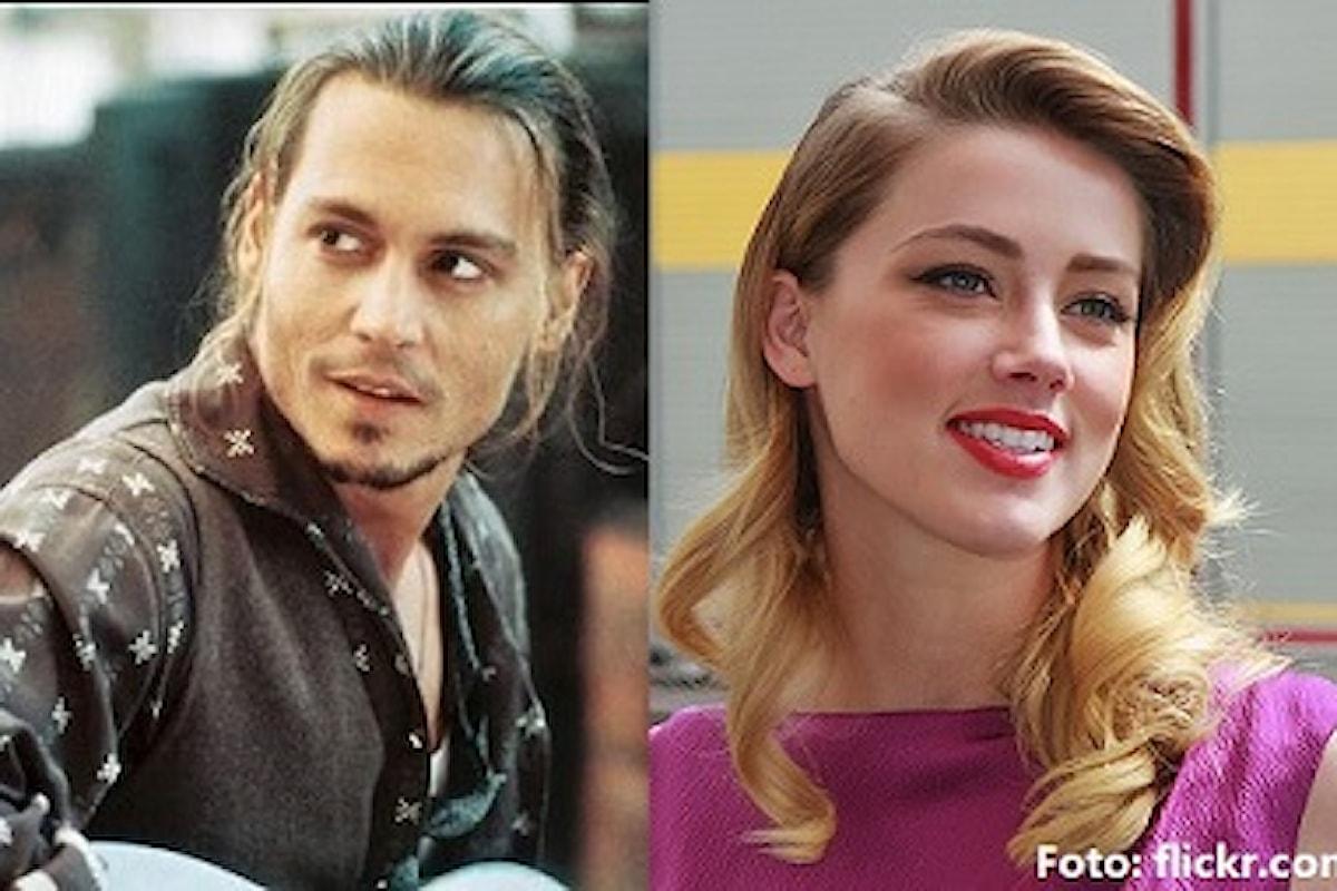 Johnny Depp: Amber Heard accusa l'attore di aver spinto dalle scale Kate Moss: 'L'ho amato, ma era un mostro'