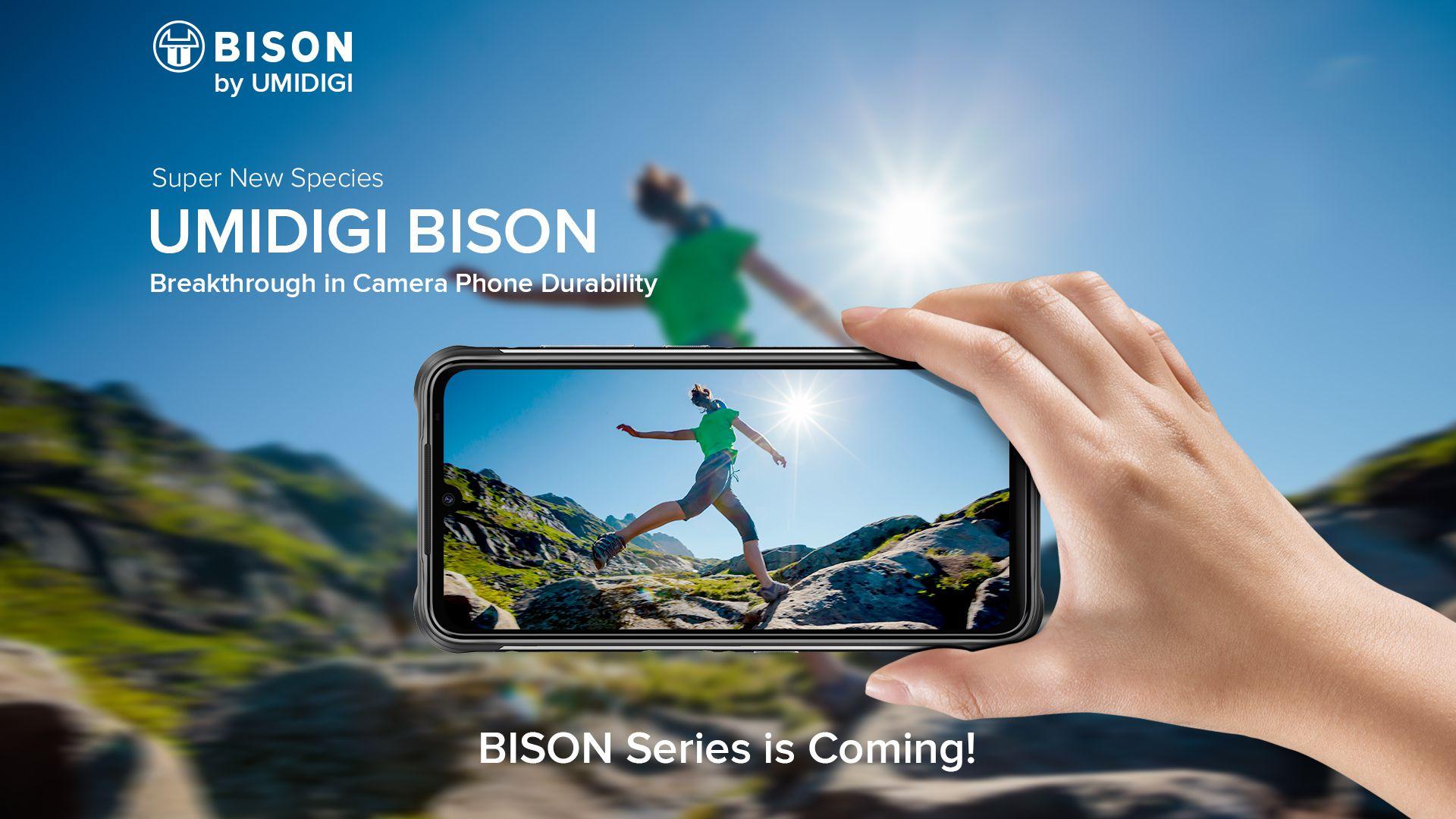 BISON sarà lo smartphone rugged di UMIDIGI con in più un design accattivante