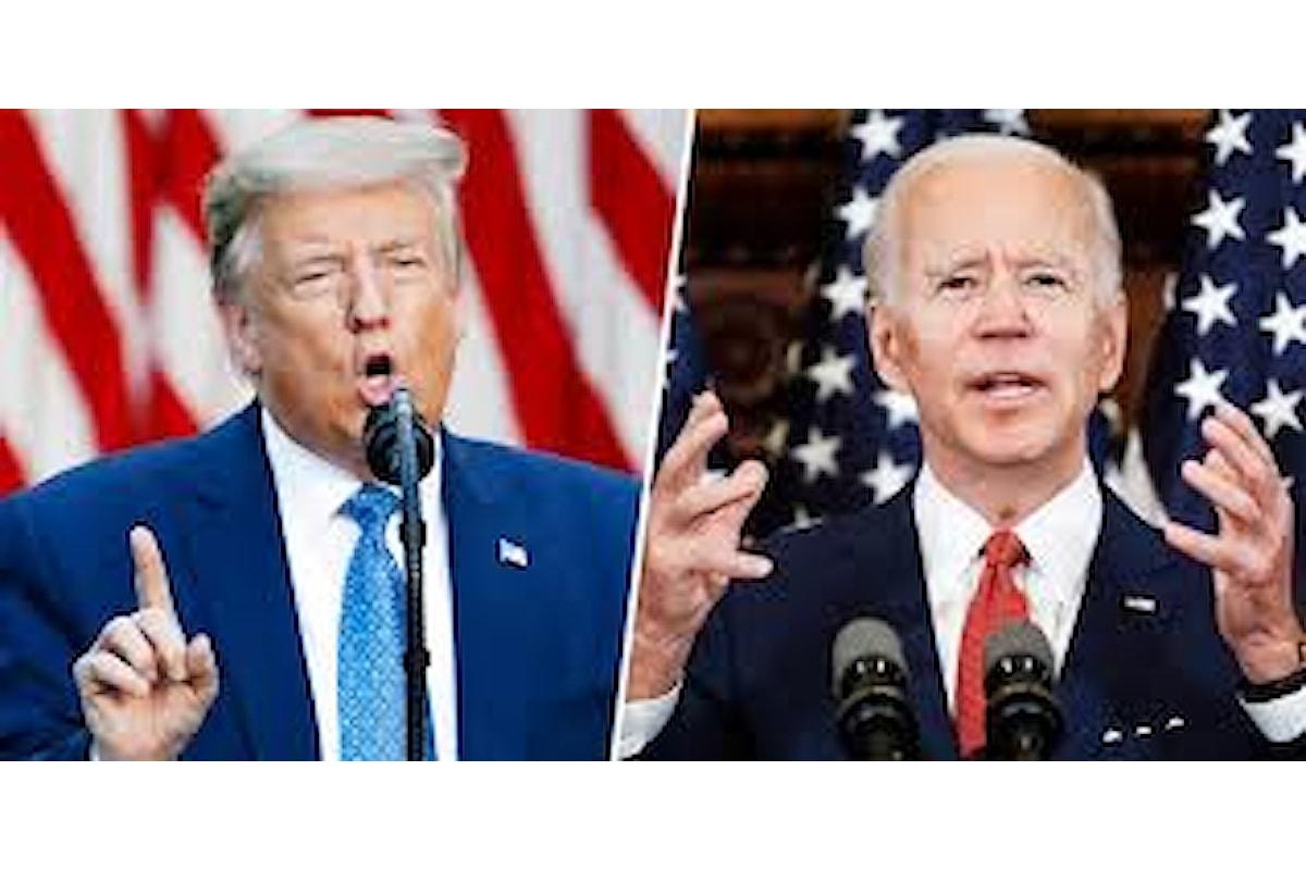 Aumenta il vantaggio di Joe Biden su Donald Trump : Biden sarebbe avanti di 15 punti.