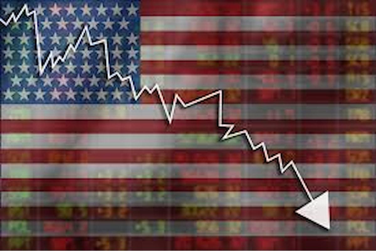 Crollo dell'economia americana: -31,7% il Pil Usa nel secondo trimestre 2020