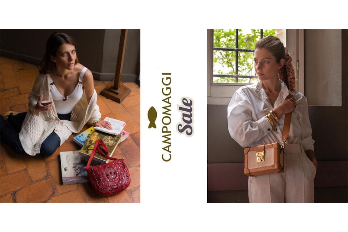 Continuano i Saldi su InVoga Magazine, con le proposte artigianali della Campomaggi