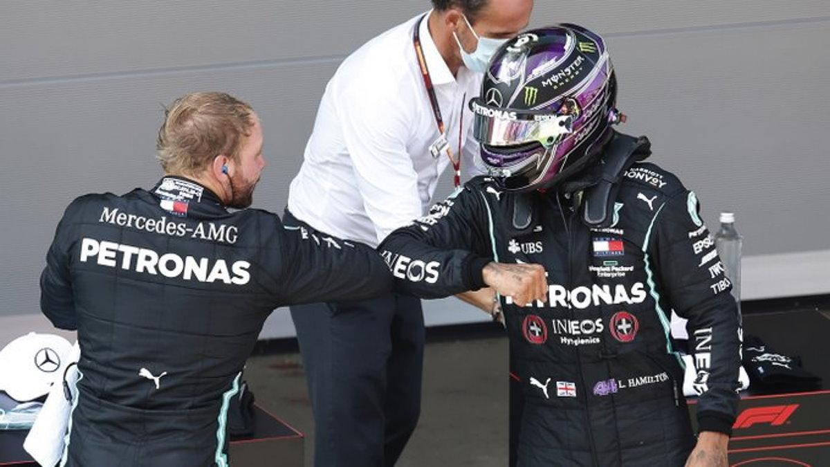 Formula 1, ad Hamilton la pole del GP di Spagna 2020