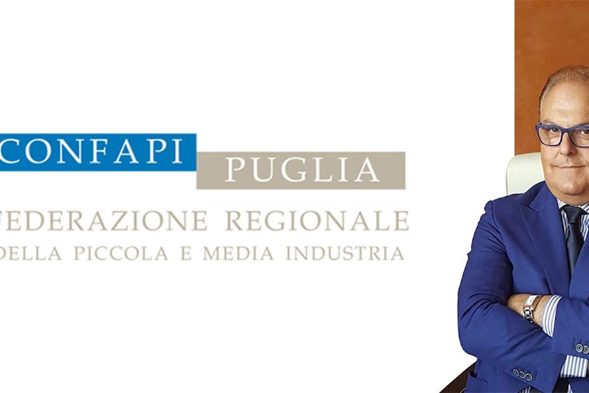 Intervista all'Ing. Carlo Martino, Presidente di Confapi Puglia. Si auspica un intervento deciso dello Stato e dell'amministrazione dell'Arcelor Mittal