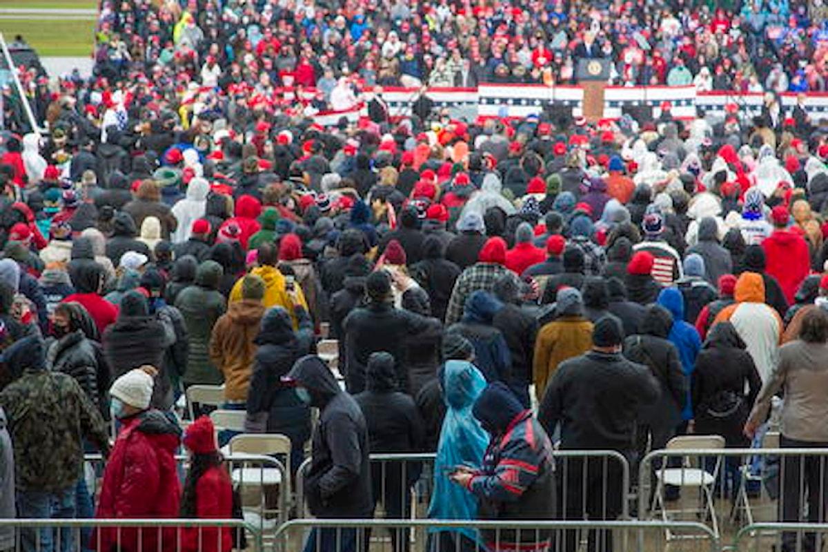 Stati Uniti: sono 500mila i nuovi contagi Covid negli ultimi 7 giorni