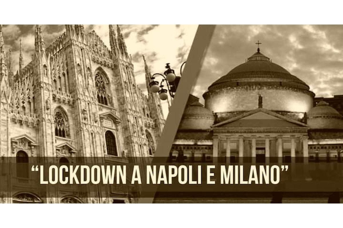 Lockdown mirati per Napoli e Milano, lo chiede Ricciardi