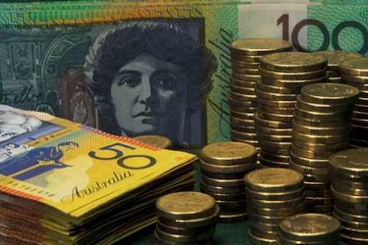 Valute, continua il momento positivo per il dollaro australiano