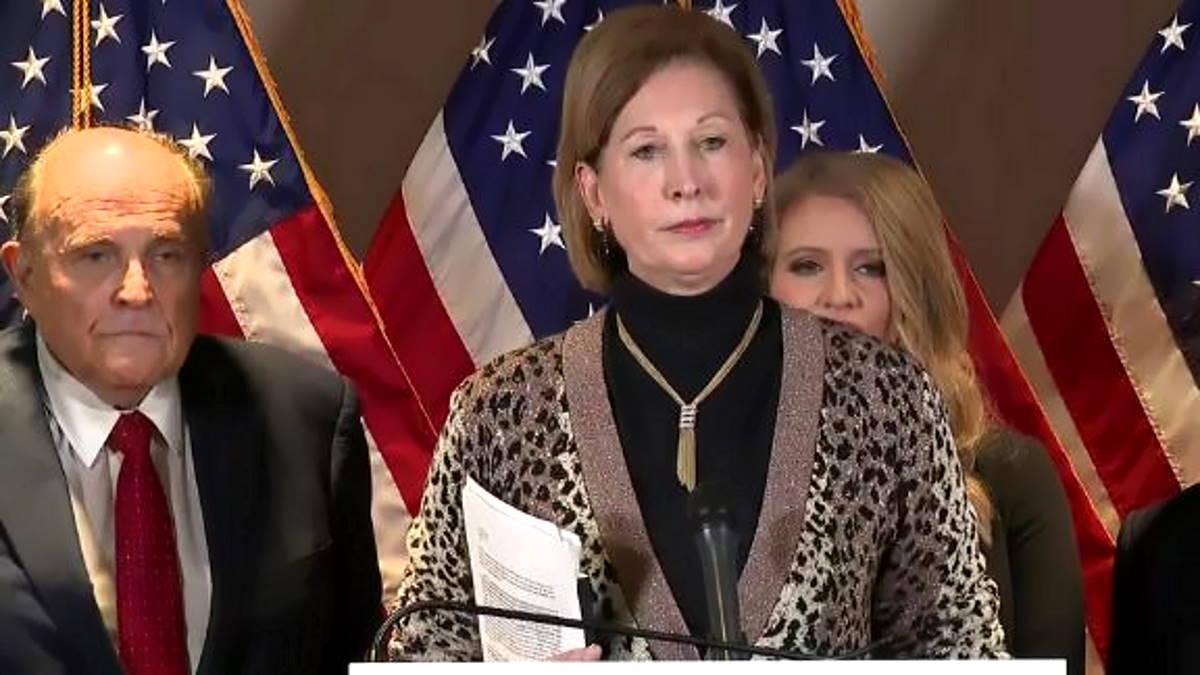 La complottista Sidney Powell non fa più parte del team legale di Trump