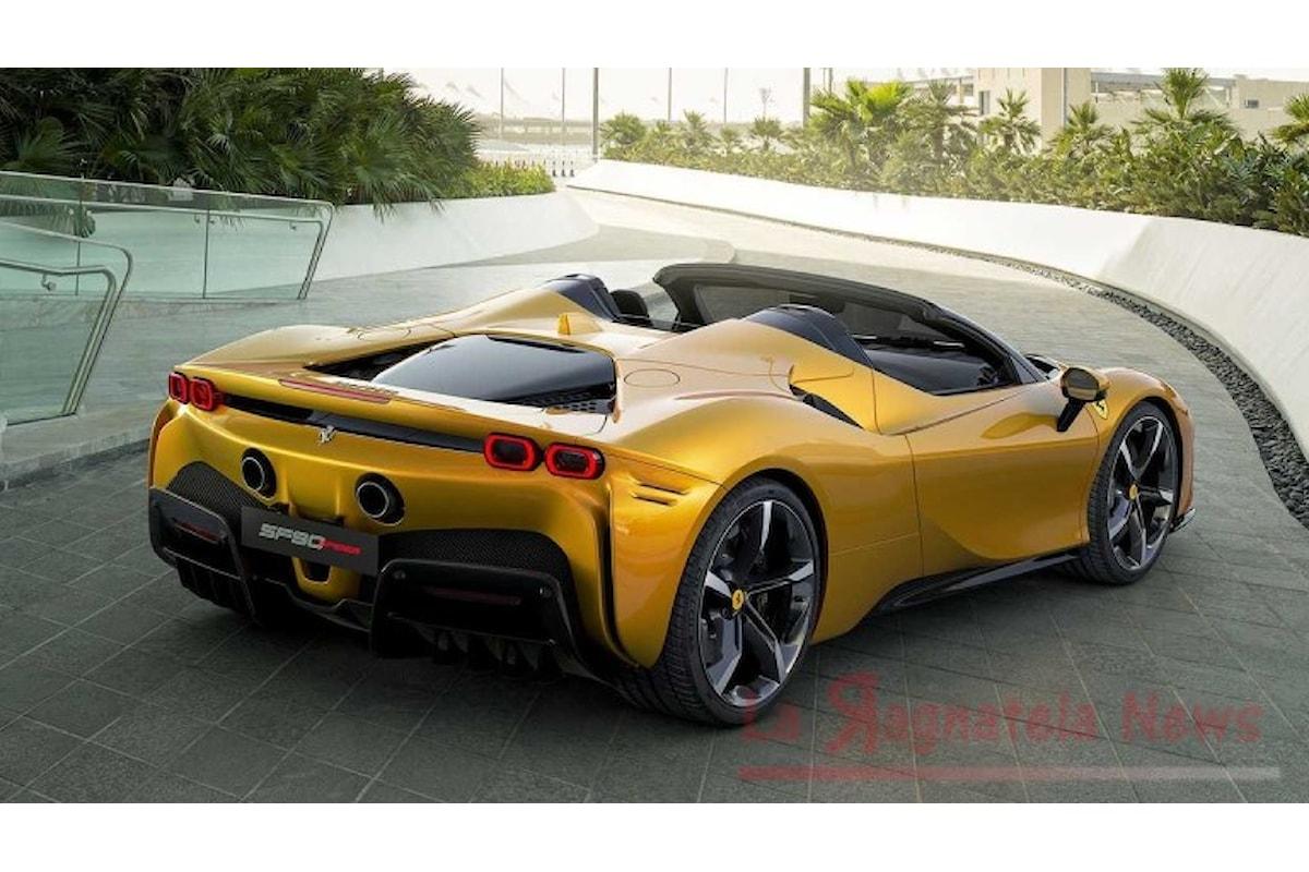 Ferrari SF90 Spider, mai nessuna come lei