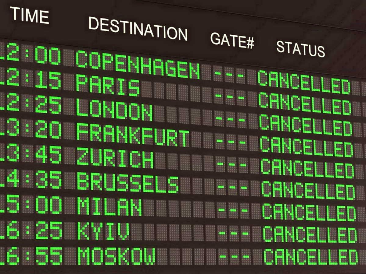 Perchè il trasporto aereo è in profonda crisi, il consumo del suolo e tante altre attività devono essere riviste e ripensate in modo diverso.