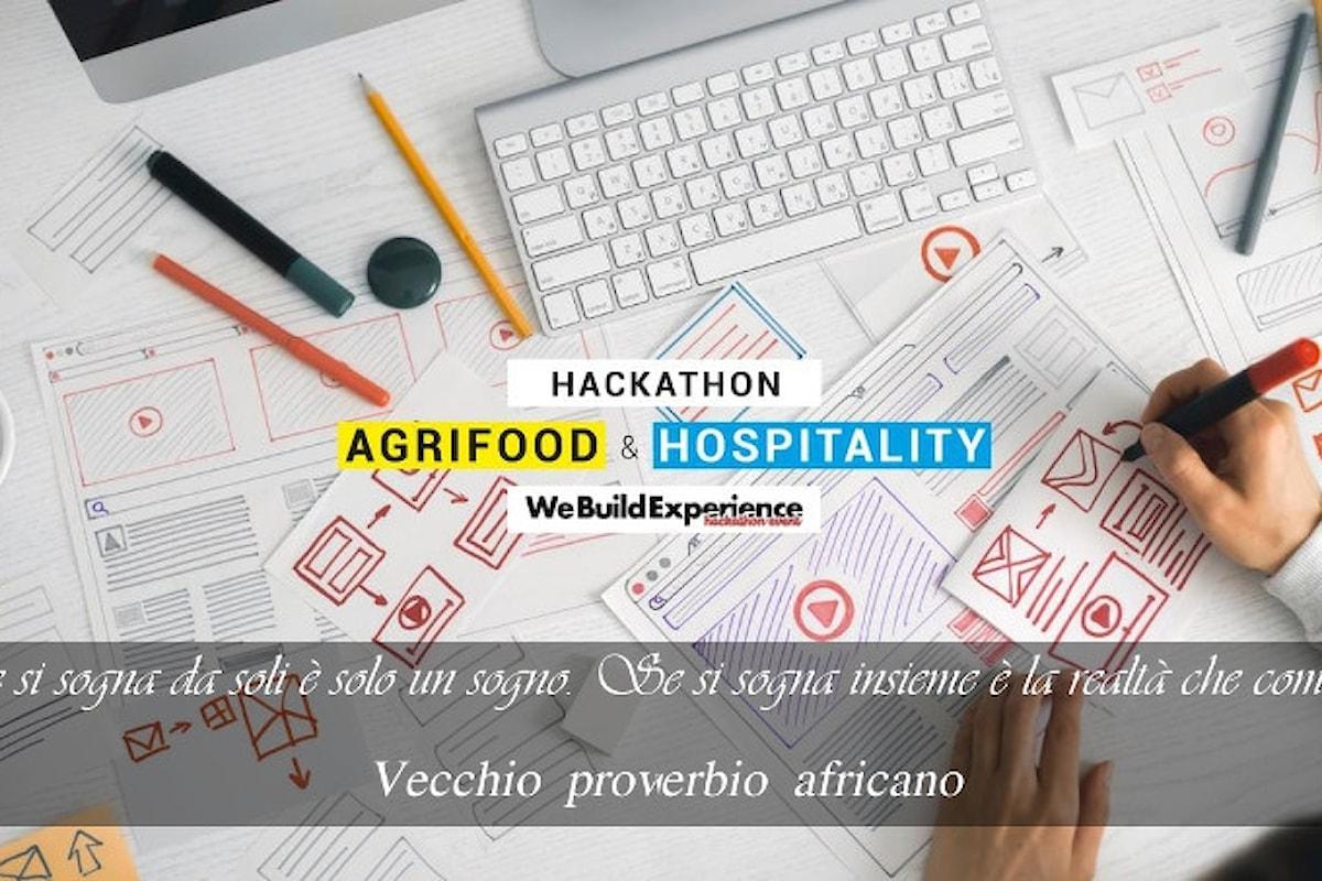 Il comune di Ficarazzi vince l'Hackathon: We Build Experience - Evento on line dedicato all'Agrifood e all'Hospitality, svolto dal 29 al 30 gennaio