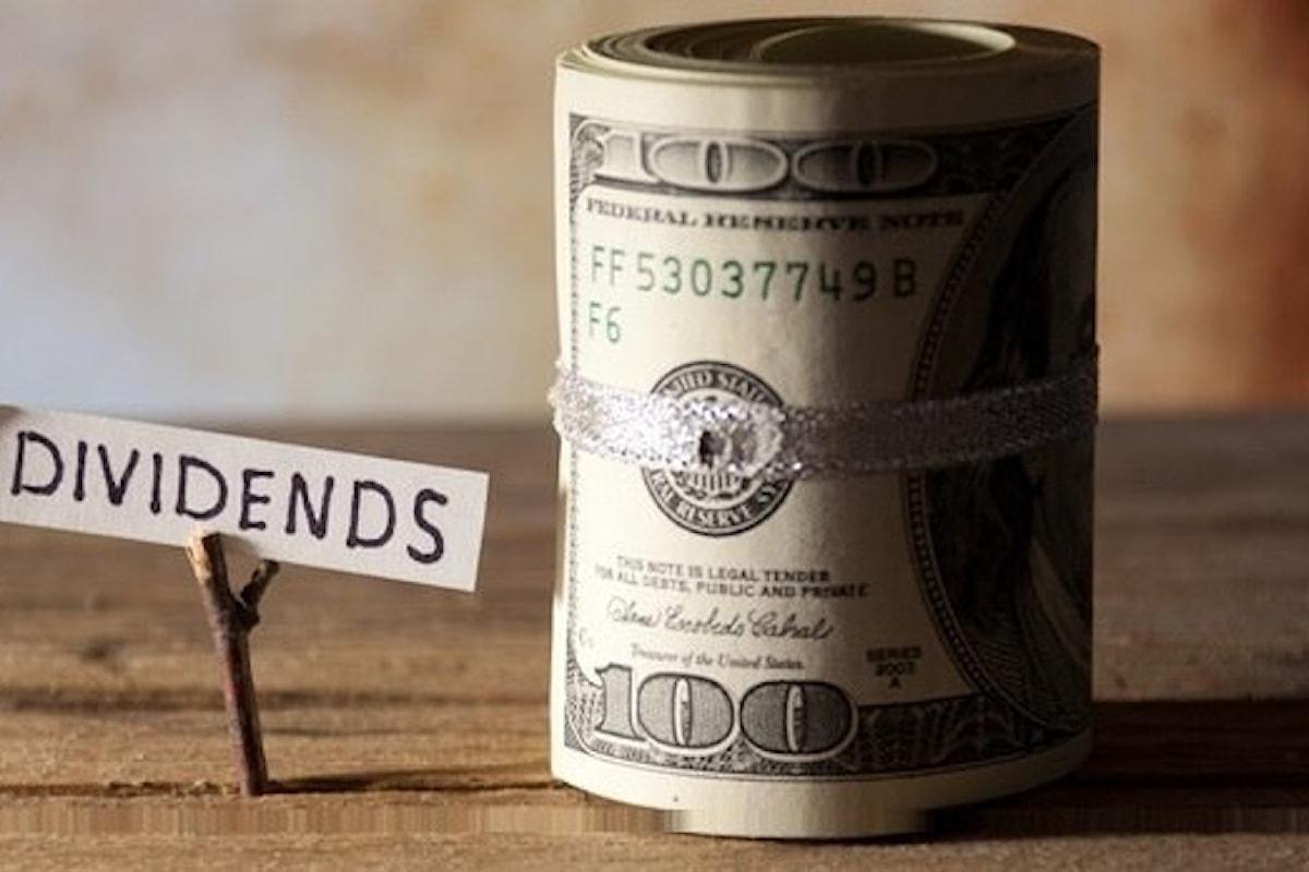 Azionario, per la ricerca di un dividendo ripassare l'anno prossimo