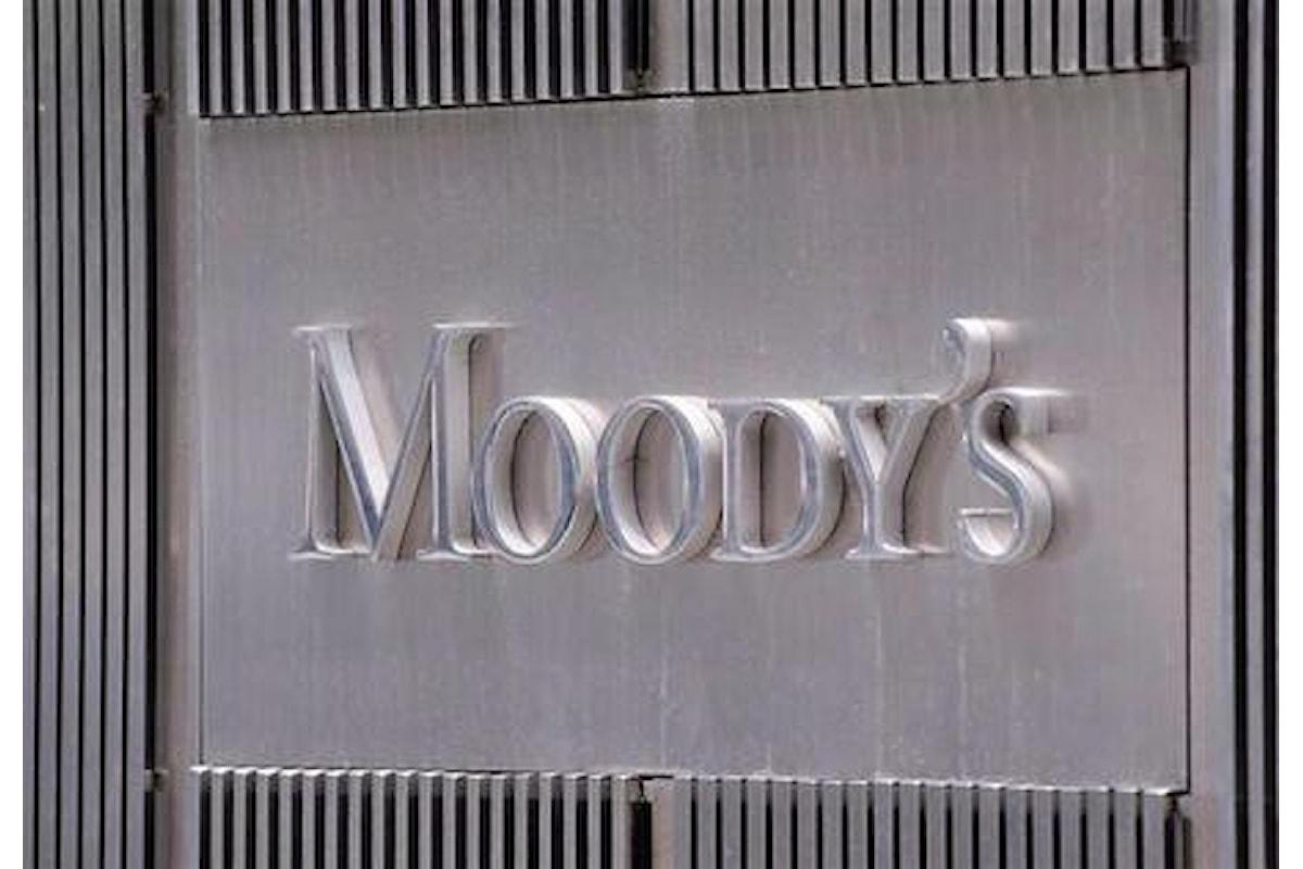 Adesso per Moody's migliorano le aspettative per l'economia italiana