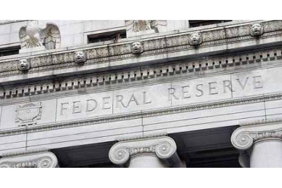 La Federal Reserve dà il via a giorni intensi di meeting