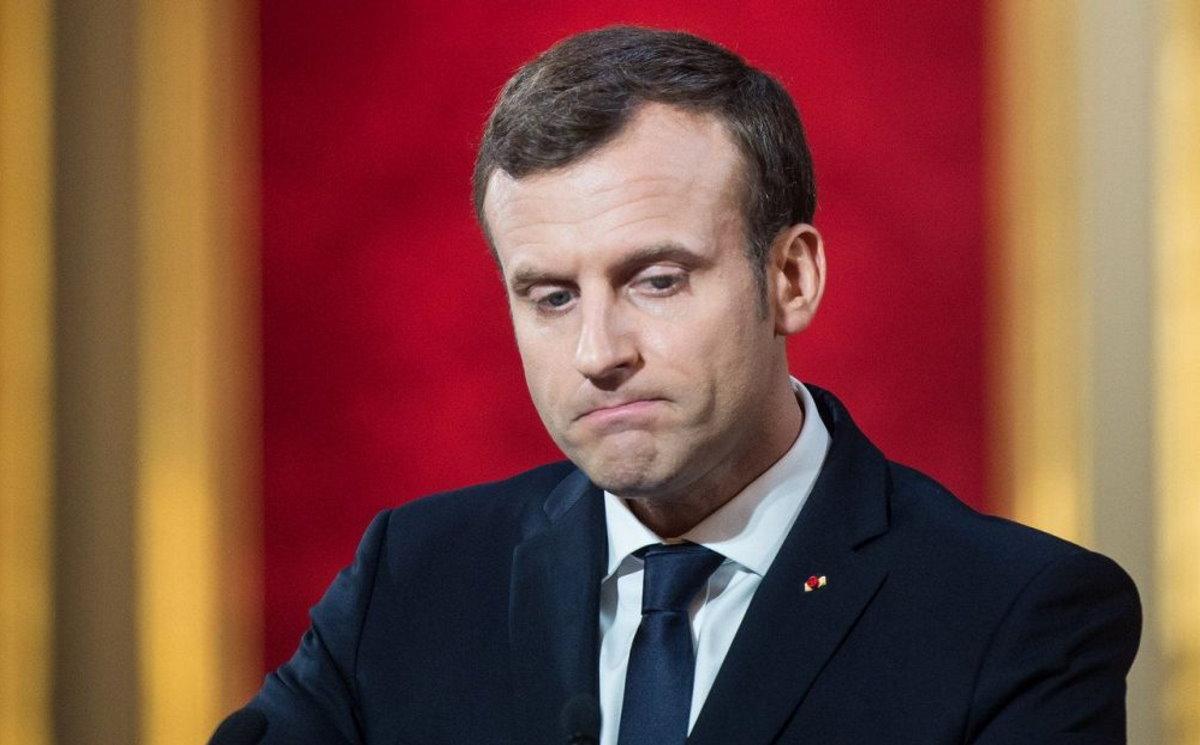 Contagio da coronavirus: fortunati i francesi che hanno Macron!