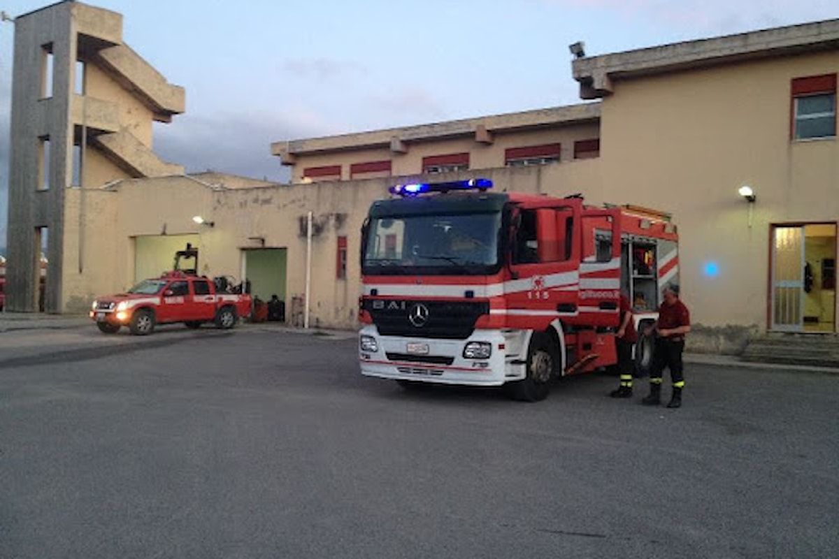 Milazzo (ME) - Caserma dei vigili del fuoco, niente vendita, sì alla manutenzione