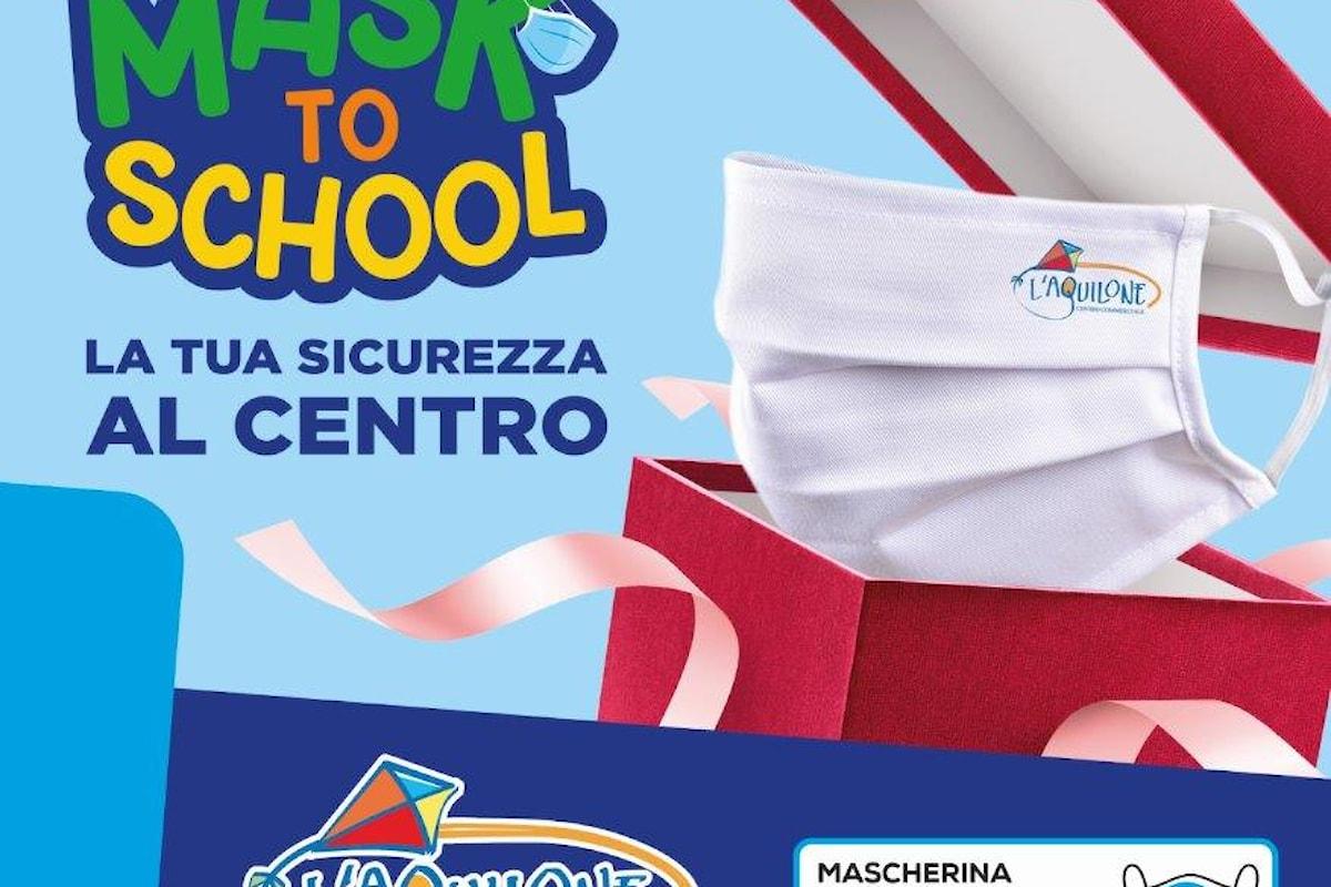 """Il Centro Commerciale L'Aquilone presenta """"MASK TO SCHOOL"""""""