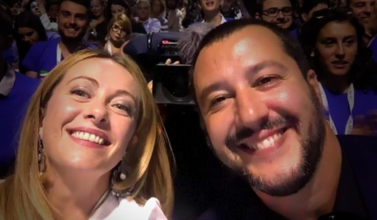 Meloni e Salvini: i promotori della libertà di non capire o di far finta di non capire