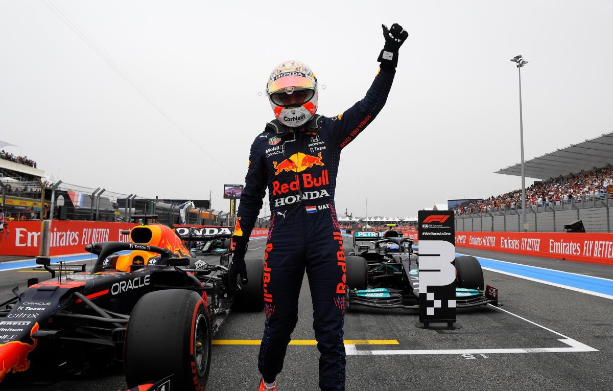 Formula 1, Verstappen è il più veloce a Le Castellet: sua la pole per il GP di Francia